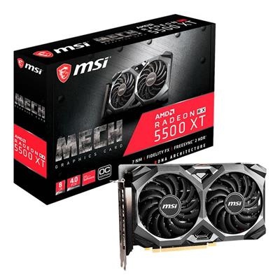 PLACA DE VIDEO VGA PCI-E 8GB RX5500XT RADEON MSI